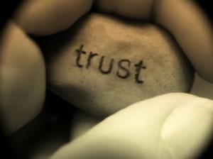 Trust Vertrouwen Hand